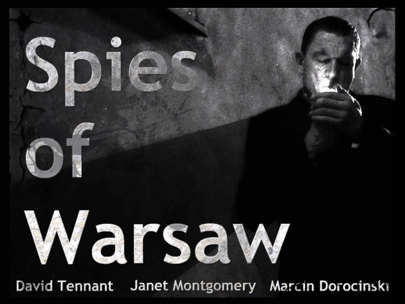 Alternative Movie Poster for Spies of Warsaw staring David Tennant