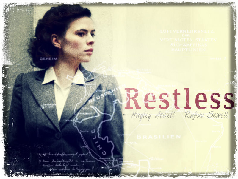 Alternative Movie Poster for the Restless miniseries staring Hayley Atwell