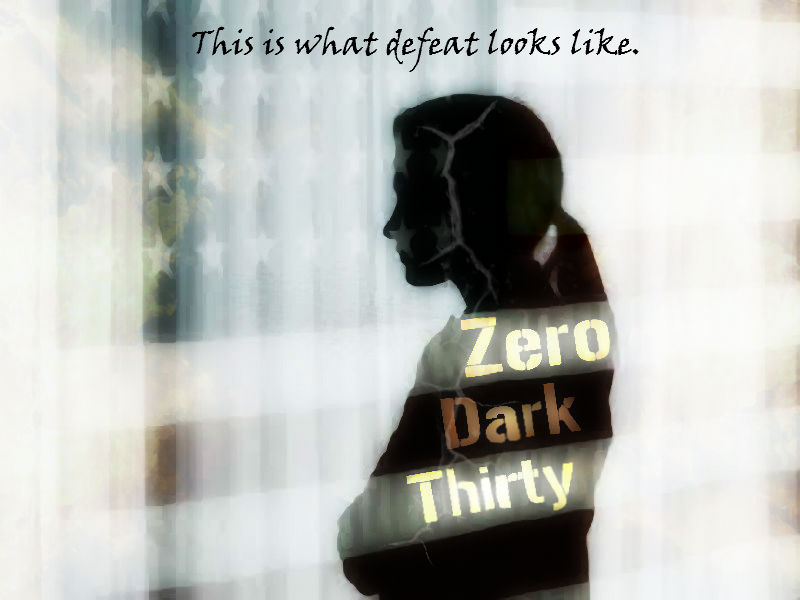 Alternative Movie Poster for Zero Dark Thirty