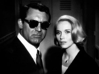North by Northwest: Cary Grant and Eve Marie Saint