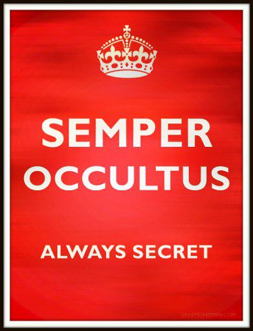 MI6 Motto: Semper Occultus, Always Secret