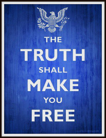 CIA Motto: The Truth Shall Make You Free
