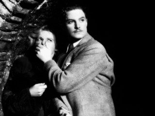 Robert Donat in The Thirty-Nine Steps