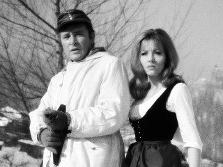 Richard Burton and Mary Ure in Where Eagles Dare