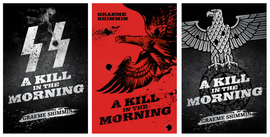 A Kill in the Morning Trial Book Cover Designs