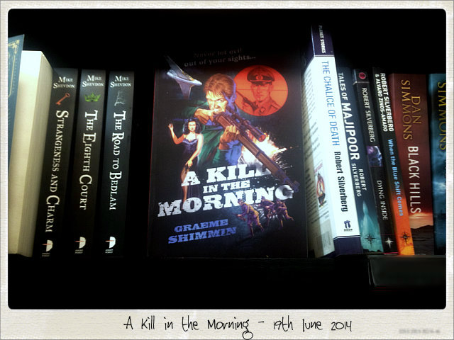 A Kill in the Morning Publication Day