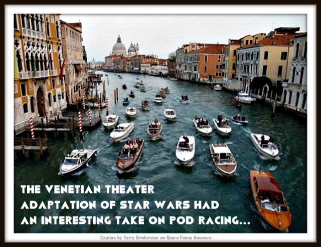 Graeme Shimmin Caption Competition 44 - Venice