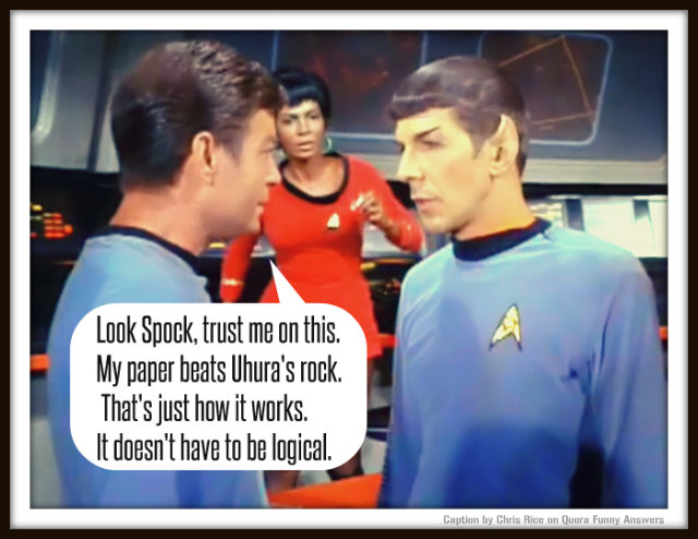 Graeme Shimmin Caption Competition 52: Star Trek