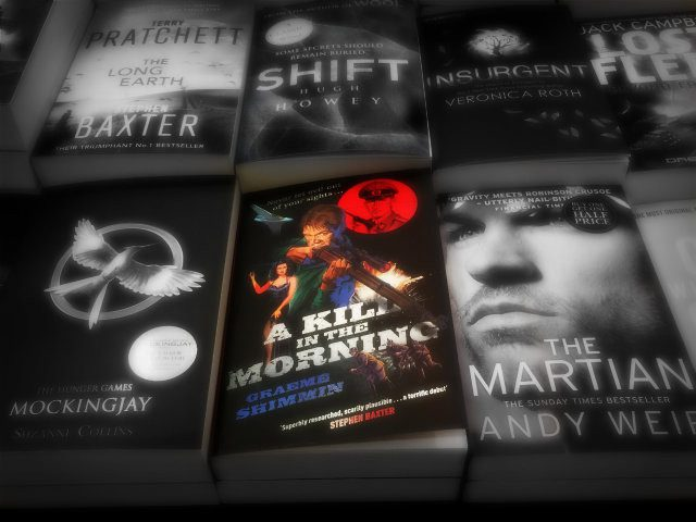 A Kill in the Morning Paperback – Launch Day!