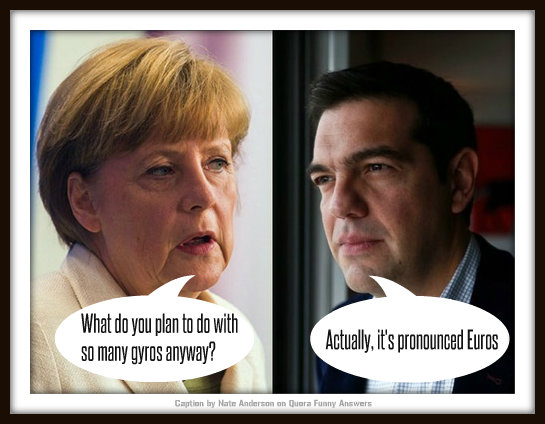 Graeme Shimmin Caption Competition 53: Tsipras meets Merkel