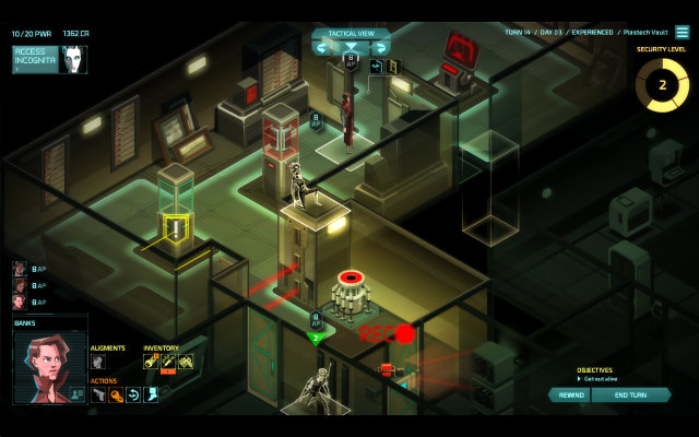 Invisible Inc Gameplay Review