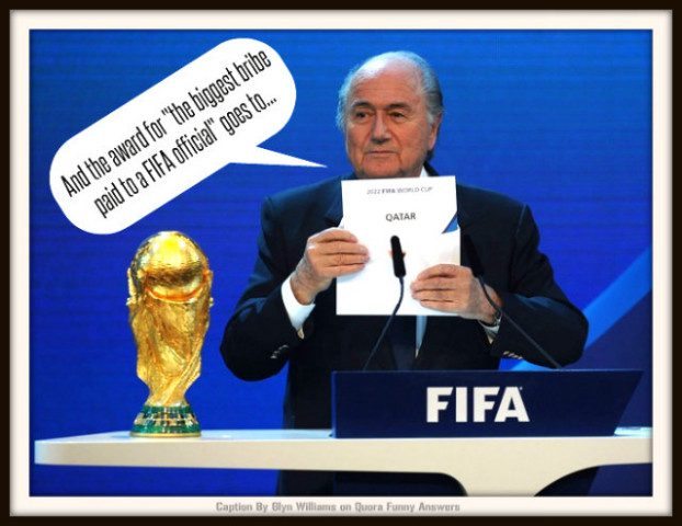 Graeme Shimmin Caption Competition 59 - FIFA
