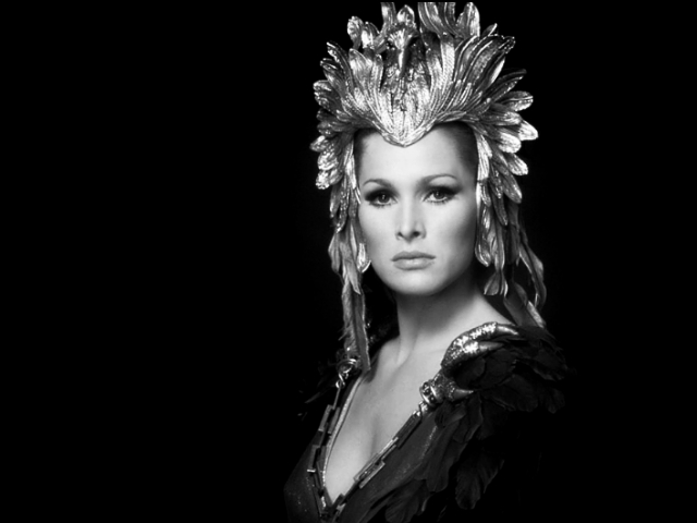 Ursula Andress as Aysha in She by H Rider Haggard