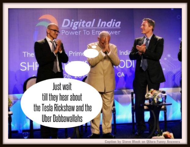 Graeme Shimmin Caption Competition 63 - Modi in Silicon Valley