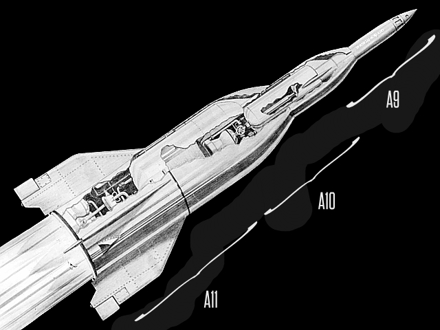 Alternate History Vehicles: A9:A10:A11 Rocket