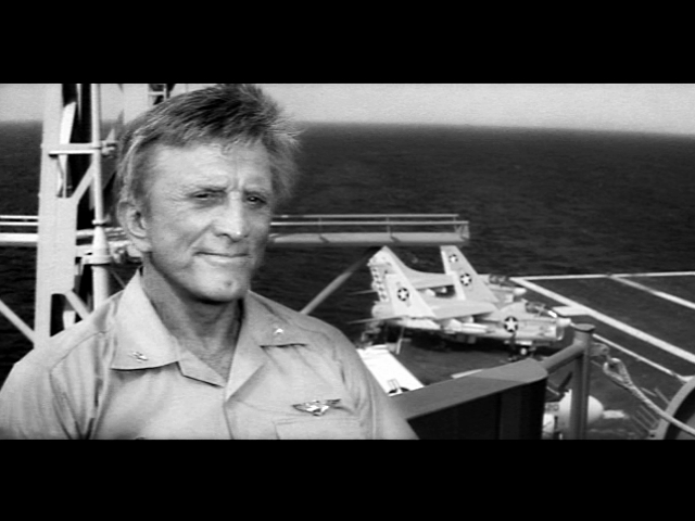 Kirk Douglas in The Final Countdown