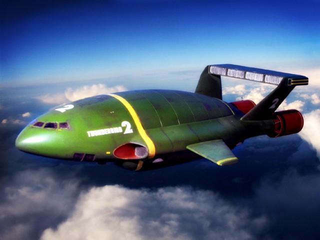 Top Ten Best Fictional Aircraft: Thunderbird 2