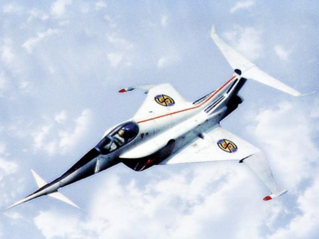 Fictional Aircraft: Angel Interceptor
