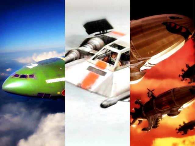 My Top Ten Fictional Aircraft